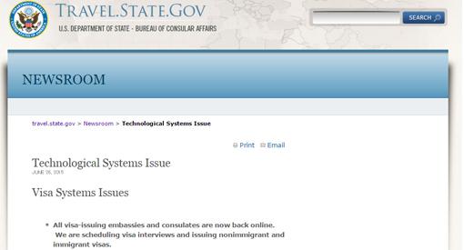 米国務省ニュース