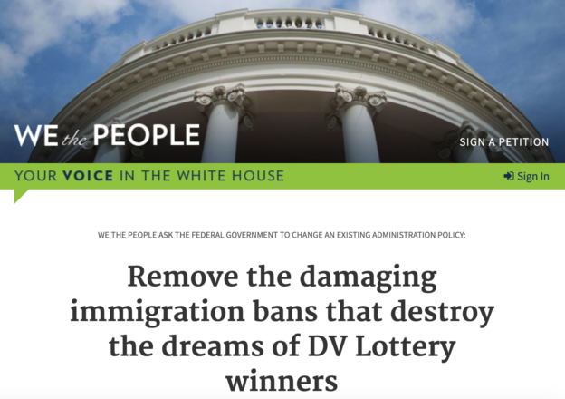 we the people_petition to white house